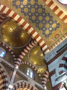 Frescos at Notre-Dame de la Garde, Marseille